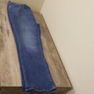 Mens Bootcut Jeans 38x34